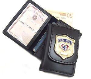 Portafoglio-Vega-Holster-in-cuoio-1WD37-polizia-zoofila-enpa-Ente-nazionale-prot