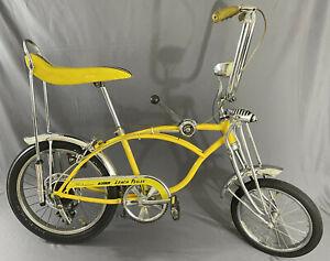 1974 Schwinn Stingray Lemon Peeler Vintage *REBUILT/Reproduction Parts*