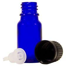 72 Pcs 15 ml [1/2 oz] Cobalt Blue Glass Bottle W/ Euro Dropper