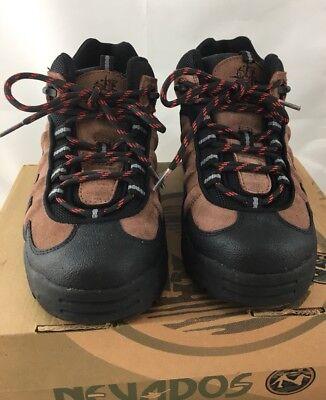 2ac74fbf42f Nevados Men's Hiking Boots Low Hiking Shoe Vulcan Brown Black Size 8 | eBay