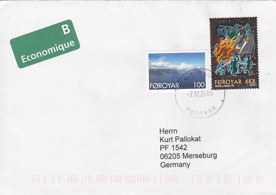 Sagen Humor 357 396 Auf Faröer-brief Aus Midvagur Von 2005 Bräuche /141