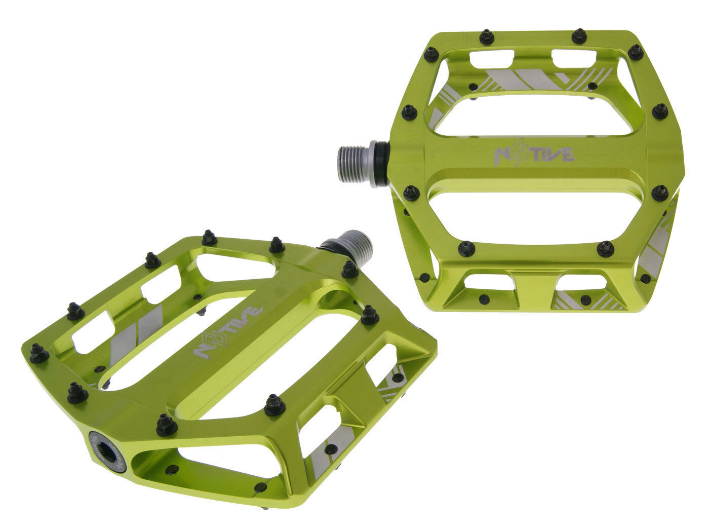 N 8 tive Flat pedal DH 105x110mm MTB Mountain Dirt bike downhill