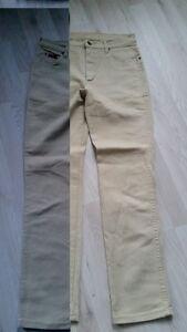Sehr Roxanne Beige Gut Jeans W32 Wrangler H2744 wSqFXn