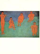 """1973 Vintage MATISSE /""""SELF PORTRAIT/"""" WONDERFUL COLOR Art Print offset Lithograph"""