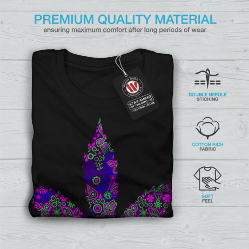 Sensation Casual Design Wellcoda Hippie Freedom Womens Long Sleeve T-shirt