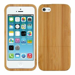 Wooden-Wood-Bamboo-Hard-Case-for-iPhone-X-10-8-5-5c-SE-6-6s-7-Plus-Xs-XR-Max