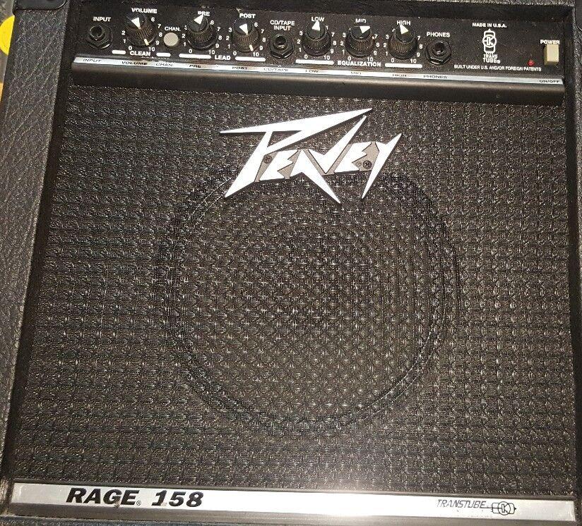 Peavey TransTube RAGE 158 15 Watt Dual Channel Guitar Combo Amp