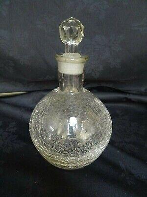 Shell shaped Ground Glass Perfume