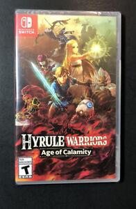 Hyrule Warriors Age Of Calamity Nintendo Switch New Ebay