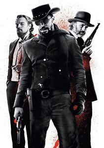 DJANGO-UNCHAINED-Movie-PHOTO-Print-POSTER-Film-Quentin-Tarantino-Textless-012