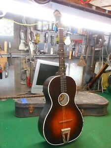 B&J NY Serenader Regal/ Lyon & Healy? Waverly Parlor Tenor guitar 1920s? Rare