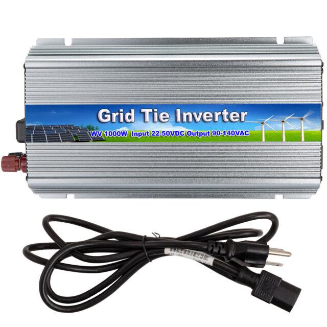 1000W Grid Tie Inverter DC20-45V to AC230V Solar Pure Sine Wave Micro Inverter
