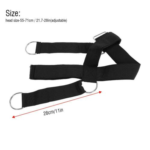Head Weight Lifting Harness Neck Strap Strength Gym Belt Exercise Fitness Belt