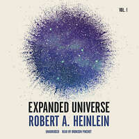 Expanded Universe, Vol. 1 By Robert A. Heinlein Mp3cd Unabridged 2015