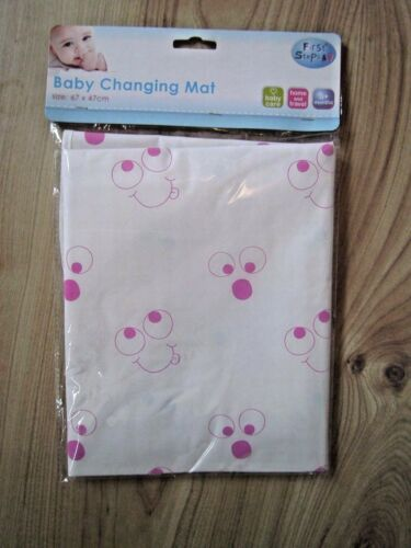 EYES BAG BABY NAPPY CHANGING MAT HOME SHOPPING TRAVEL HOLIDAY SPONGE PADDED