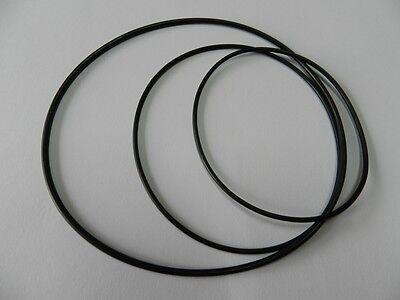 2 Vierkantriemen Riemen für Bandmaschine Tonband Tape CD usw 37,5 x 2,0  mm NEU