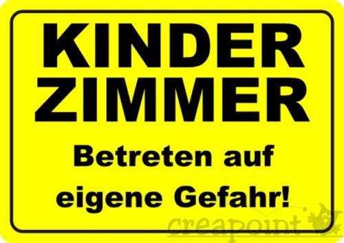 #003 Fun-Schild Tür-Schild /> Kinderzimmer /<