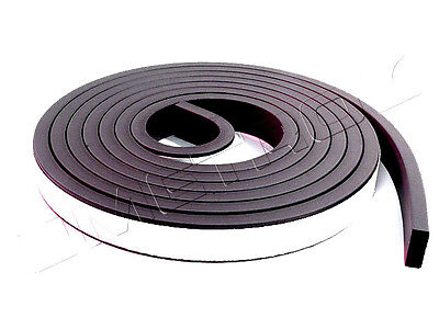 "Universal adhesive weatherstrip seal 3//16/"" X 3//4/"" X 10/' door trunk roof sunroof"