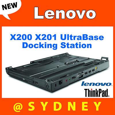New Lenovo 43R8781 ThinkPad X200 X201 UltraBase Docking Station X200s X201s