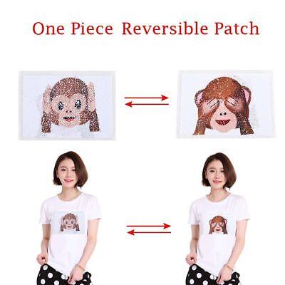 DIY Sweatshirt Kleider Annähen Pailletten Patch Paillette Applique Bestickt