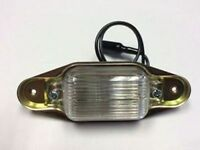 1982 1983 1984 1985 1986 1987 Chevy Truck Rear License Plate Light Assembly