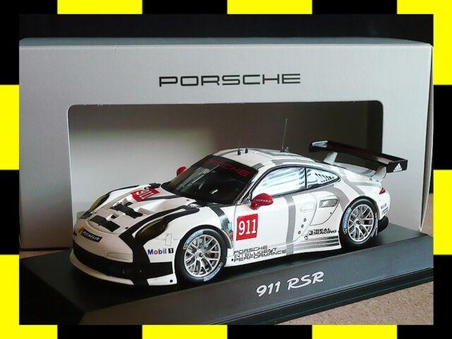 PORSCHE 911 RSR 991 Cup Präsentation 2014 SPARK 1:43 PROMO DEALER