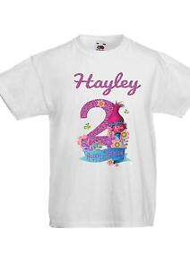 Image Is Loading CHILDRENS T SHIRT BIRTHDAY AGE 1 2 3