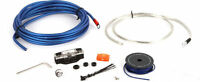 Jl Audio Xd-pcs8-1b 8 Gauge Car Stereo Amplifier Install Kit Amp Power Wire