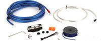 Jl Audio Xd-pcs8-1b 8 Gauge Car Stereo Amplifier Install Kit Amp Power Wire