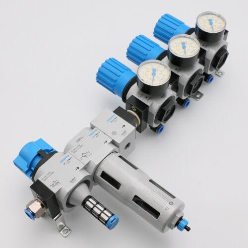 Festo 162810 + 192555 + 159592 + 528975 MIDI unidad de mantenimiento