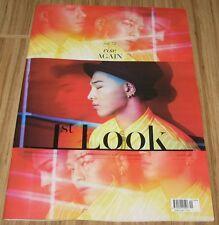 1ST LOOK FIRST LOOK VOL.72 BIGBANG TAEYANG KOREA TABLOID MAGAZINE NEW