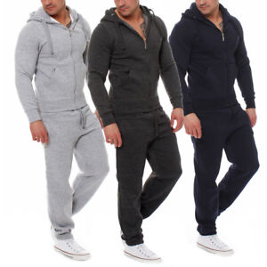 Fabrica-Herren-Jogging-Anzug-Trainingsanzug-Sweatshirt-Hose-Sportanzug