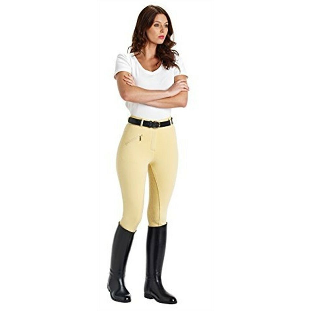 Caldene Women's Mortham Breeches Mortham Breeches - Corn, 34 Inch - Ladies