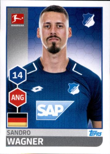 TOPPS Bundesliga 2017//2018 Sandro Wagner Sticker 136