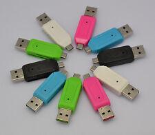 Universal Card Reader Mobile phone PC Micro USB2.0 5Pin OTG TF/SD T-Flash Memory