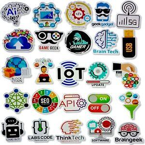 Internet-logiciel-autocollant-Cool-de-programmation-Logo-Bricolage-Pour-Geeks-Developer-Laptop