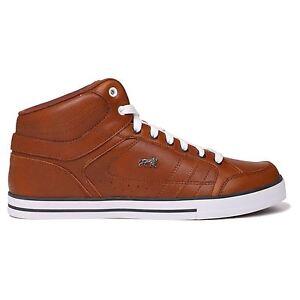 e3740772f Détails sur Lonsdale Homme Canons Baskets Montantes Sneakers Casual  Chaussures À Lacets Logo