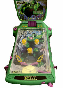 The Incredible Hulk By Marvel Pinball Machine Rare 2003 Tabletop Game Collect