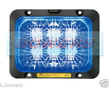 DELTA DESIGN ECCO SECURILED 12V/24V LED BLUE STROBE/HAZARD/WARNING LAMP/LIGHT