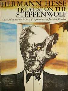 TREATISE-ON-THE-STEPPENWOLF-Hesse-Hermann-Very-Good-Book