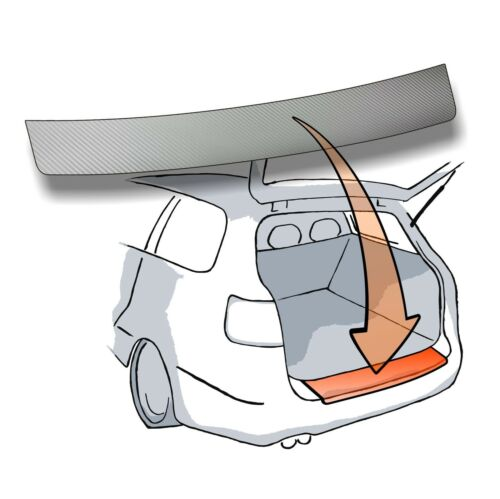 Lackschutzfolie Ladekantenschutz Folie passend für Seat Exeo ST Kombi Typ 3R