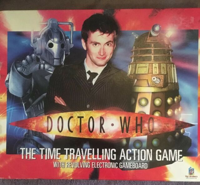 BNIB DOCTOR WHO THE TIME TRAVELLING ACTION GAME Revolving Electronic Game board