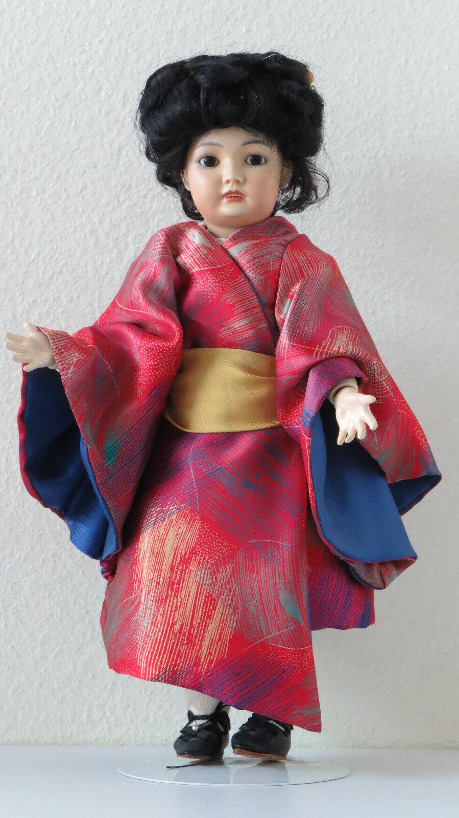Simon & Halbig  A   44 cm 17,6 Inch  Poupée Ancienne Reproduction Antique doll