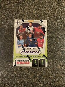2020-21 Panini Prizm Premier League Soccer ⚽ Blaster Box RED MOSAIC