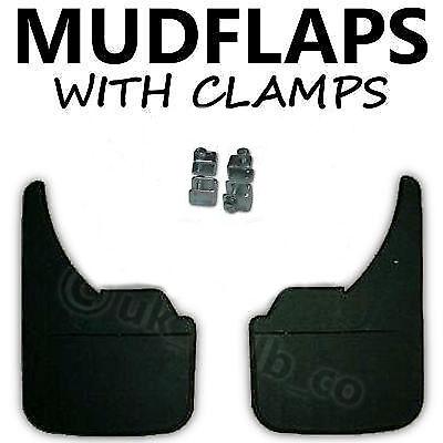 2 X Nueva goma de calidad mudflaps para caber Nissan Micra de ajuste universal