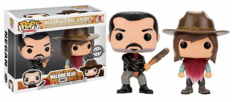 Funko POP  The Walking Dead - Negan & Carl Grimes