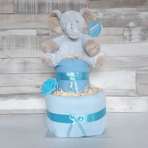 Baby Gifts Boy New Baby Baby Showers Beautiful 2 Two Tier Nappy Cake