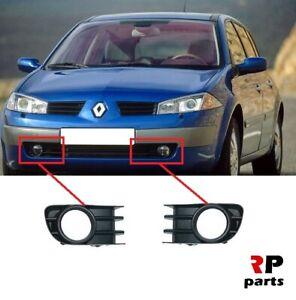 Pour Renault Clio II 2004-2006 Nouveau Pare-chocs avant Lower Center Grille Noir