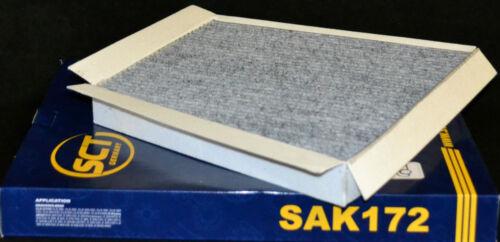 Sct interior filtros con carbón activado sak 172 mercedes clase e w211 w219 CLS