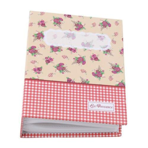 Pockets Slip In Photo Album Book Picture Storage Case Wedding Family Memo BS